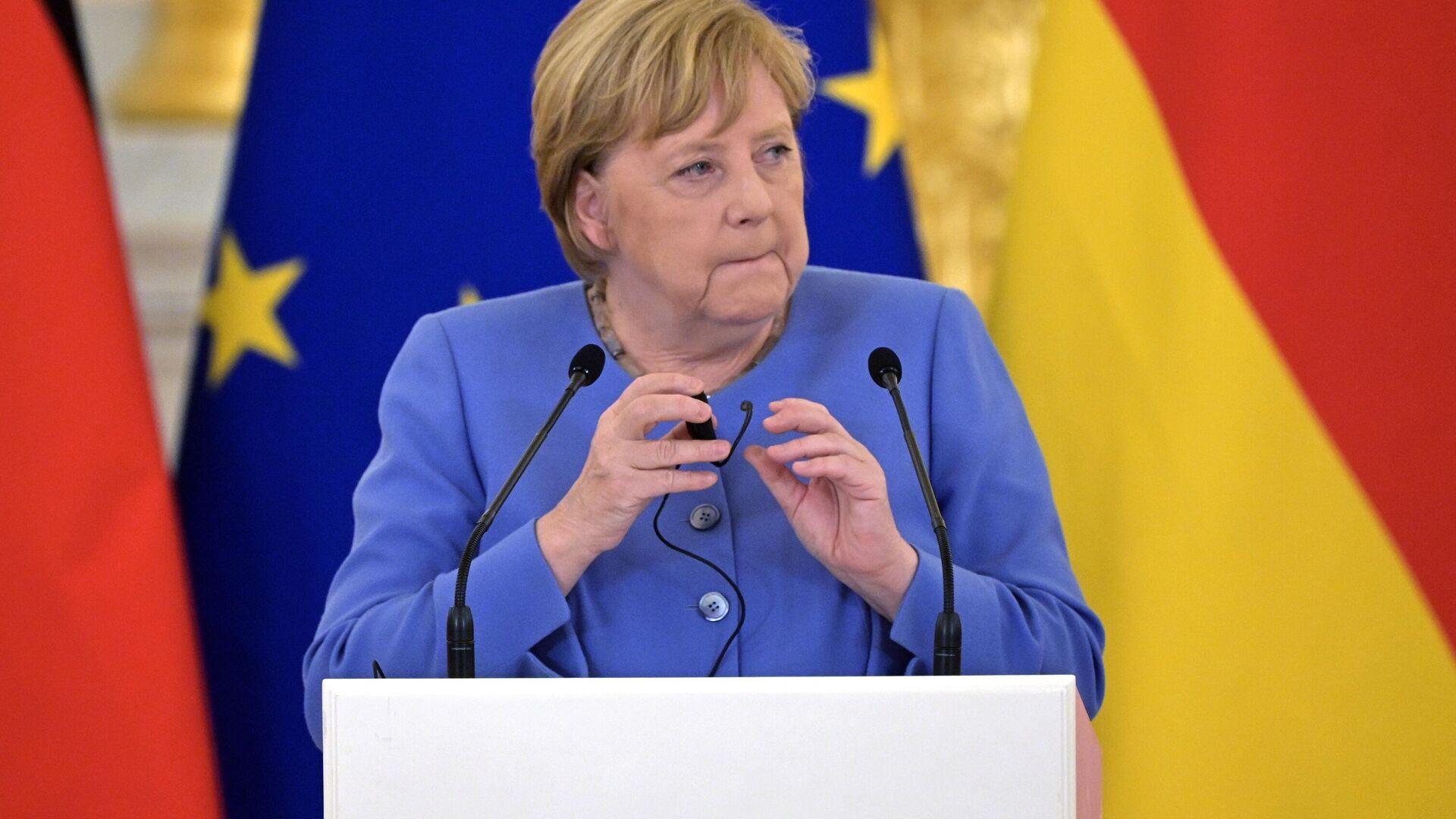 Федеральный канцлер Германии Ангела Меркель - Sputnik Латвия, 1920, 09.09.2021