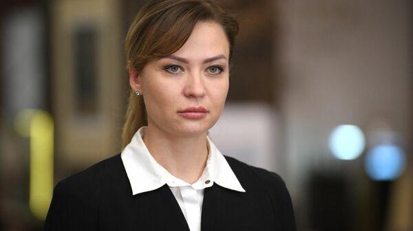Полномочный представитель Донецкой народной республики Наталья Никонорова - Sputnik Латвия