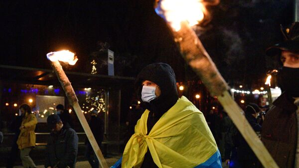 Марш националистов на Украине - Sputnik Латвия