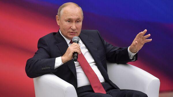 Это вопрос безопасности: Путин высказался про беженцев из Афганистана - Sputnik Латвия