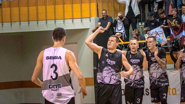Этап Мирового тура по баскетболу 3х3 Ghetto Basket Riga Challenger - Sputnik Латвия