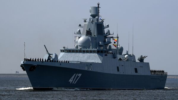 Fregate Admirālis Gorškovs - Sputnik Latvija