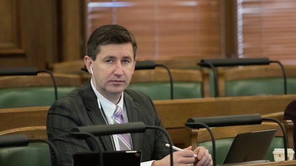 Депутат Сейма Вячеслав Домбровский - Sputnik Латвия