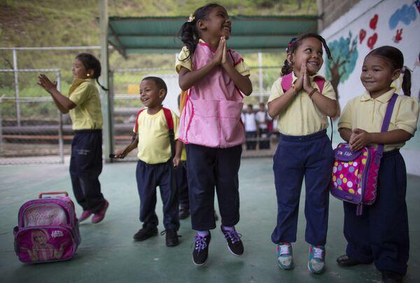 Дети в школе Каракаса. - Sputnik Латвия