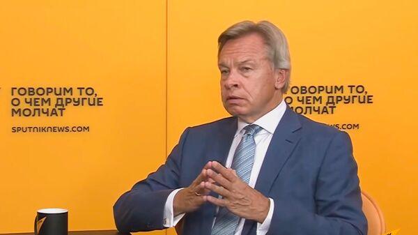 Puškovs par Lietuvas strīdu ar Baltkrieviju un migrantiem: par režīma maiņu jāmaksā - Sputnik Latvija