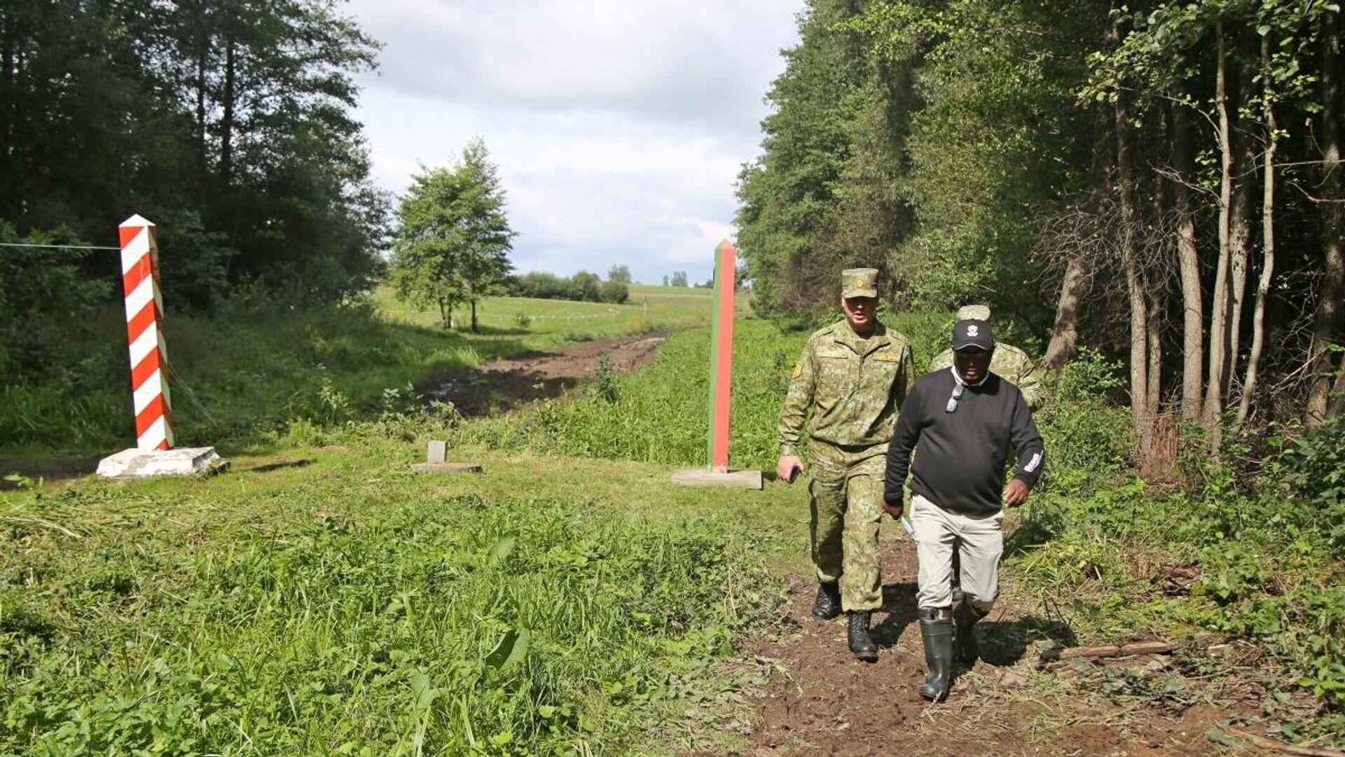 Обстановка на польско-белорусской границе, 1 сентября 2021 года - Sputnik Латвия, 1920, 03.09.2021