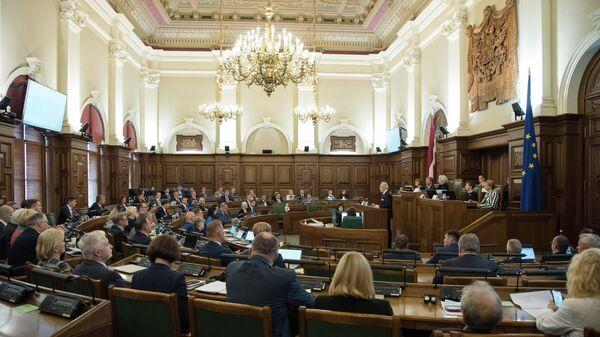 Первое очное заседание Сейма, 2 сентября 2021 года - Sputnik Latvija