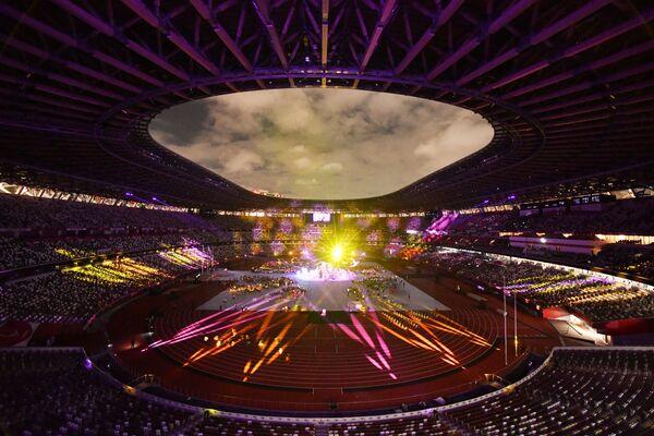 Церемония закрытия XVI летних Паралимпийских игр в Токио - Sputnik Латвия