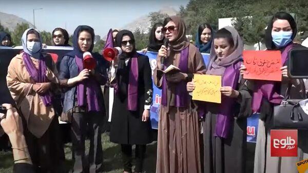 Asaru gāze un elektrošokeri: kā talibi ciena sieviešu tiesības - Sputnik Latvija