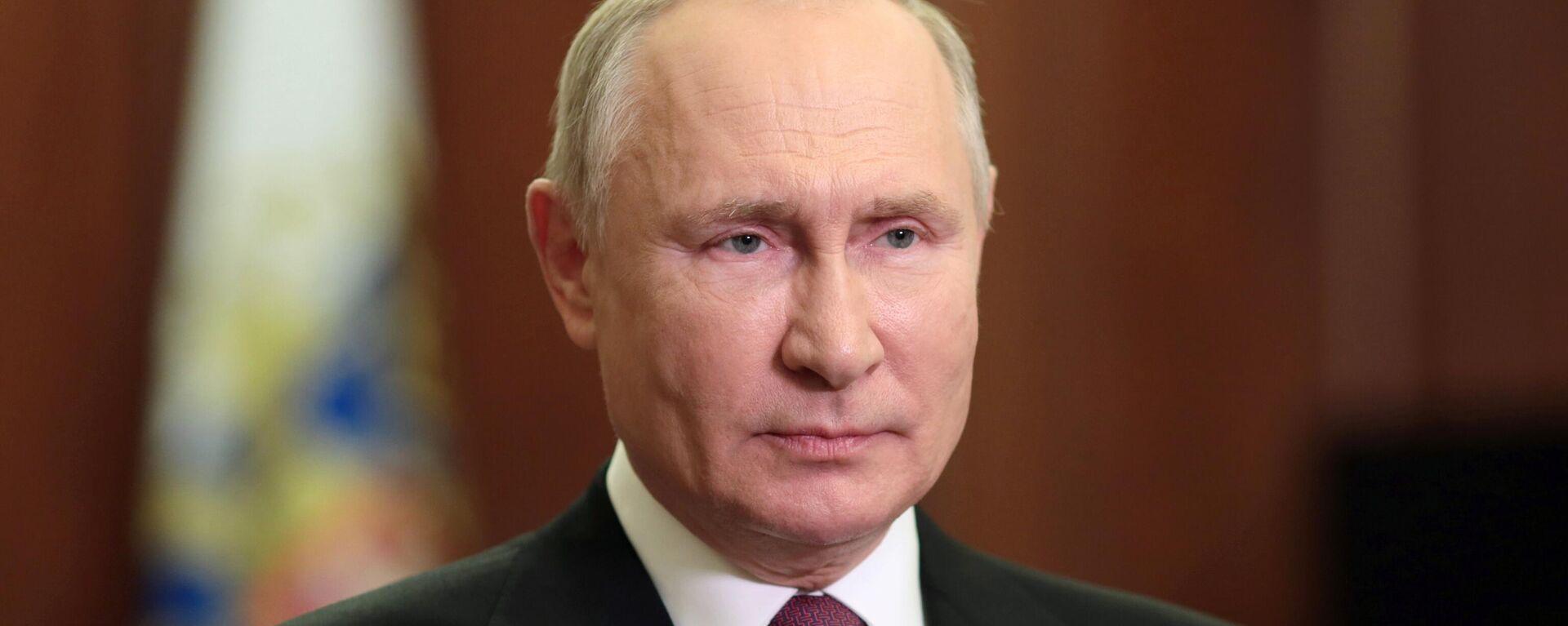 Президент РФ Владимир Путин - Sputnik Latvija, 1920, 07.10.2021