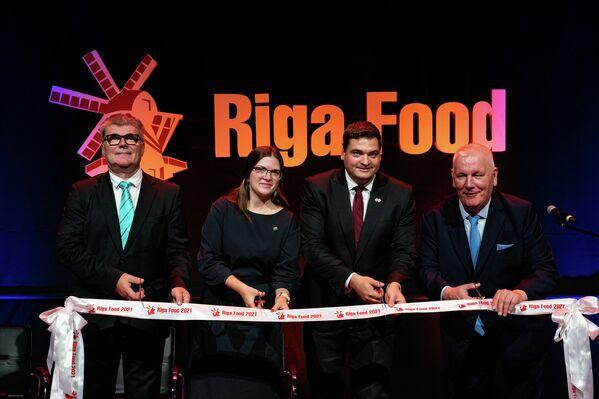 В Риге открылась международная продовольственная выставка Riga Food 2021 - Sputnik Латвия