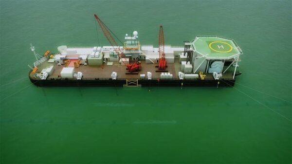 Северный поток - 2 завершен: Nord Stream 2 AG показала финал строительства - Sputnik Latvija