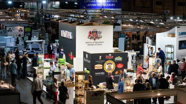 В Риге открылась международная продовольственная выставка Riga Food 2021 - Sputnik Latvija