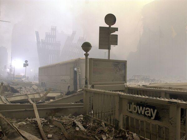 Теракт 11 сентября стал крупнейшим по числу жертв в истории. - Sputnik Латвия