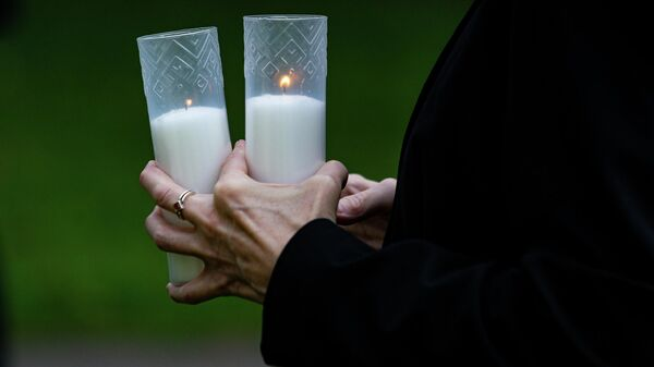 В Риге вспомнили жертв трагедии 11 сентября в Нью-Йорке - Sputnik Латвия