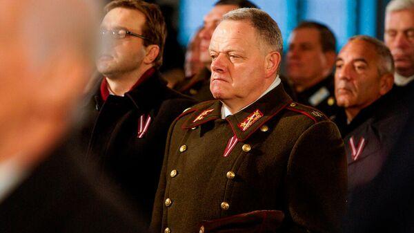 Bijušais Nacionālo bruņoto spēku (NBS) komandieris, ģenerālis Raimonds Graube - Sputnik Latvija