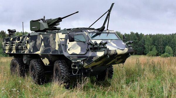 Бронемашина Patria 6x6 - Sputnik Latvija