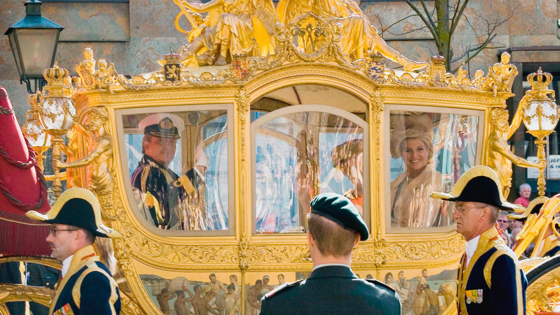 Карета короля Нидерландов - Sputnik Латвия, 1920, 15.09.2021