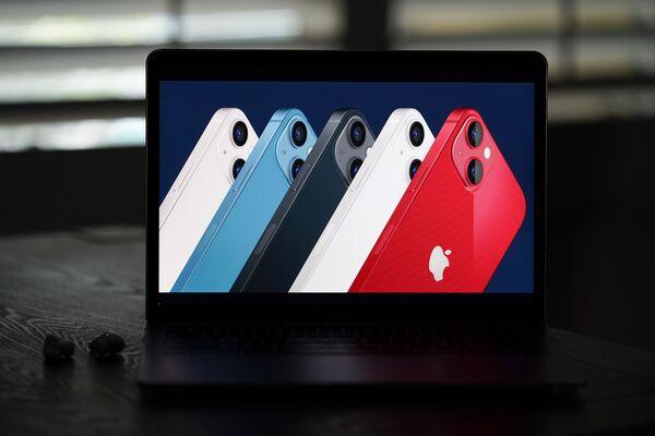 Презентация новинок Apple  проходила и на сайте компании  - Sputnik Латвия
