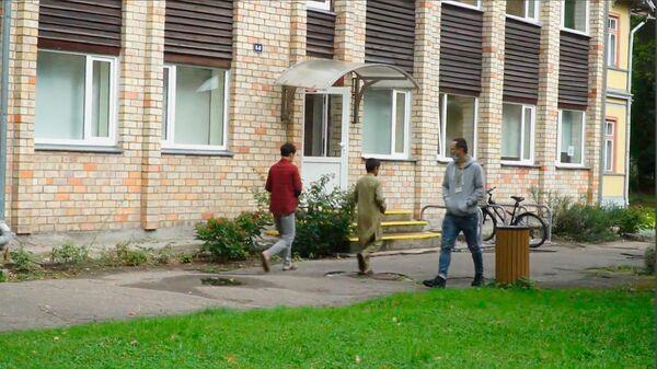 Место размещения беженцев из Афганистана в Юрмале сняли на видео - Sputnik Latvija