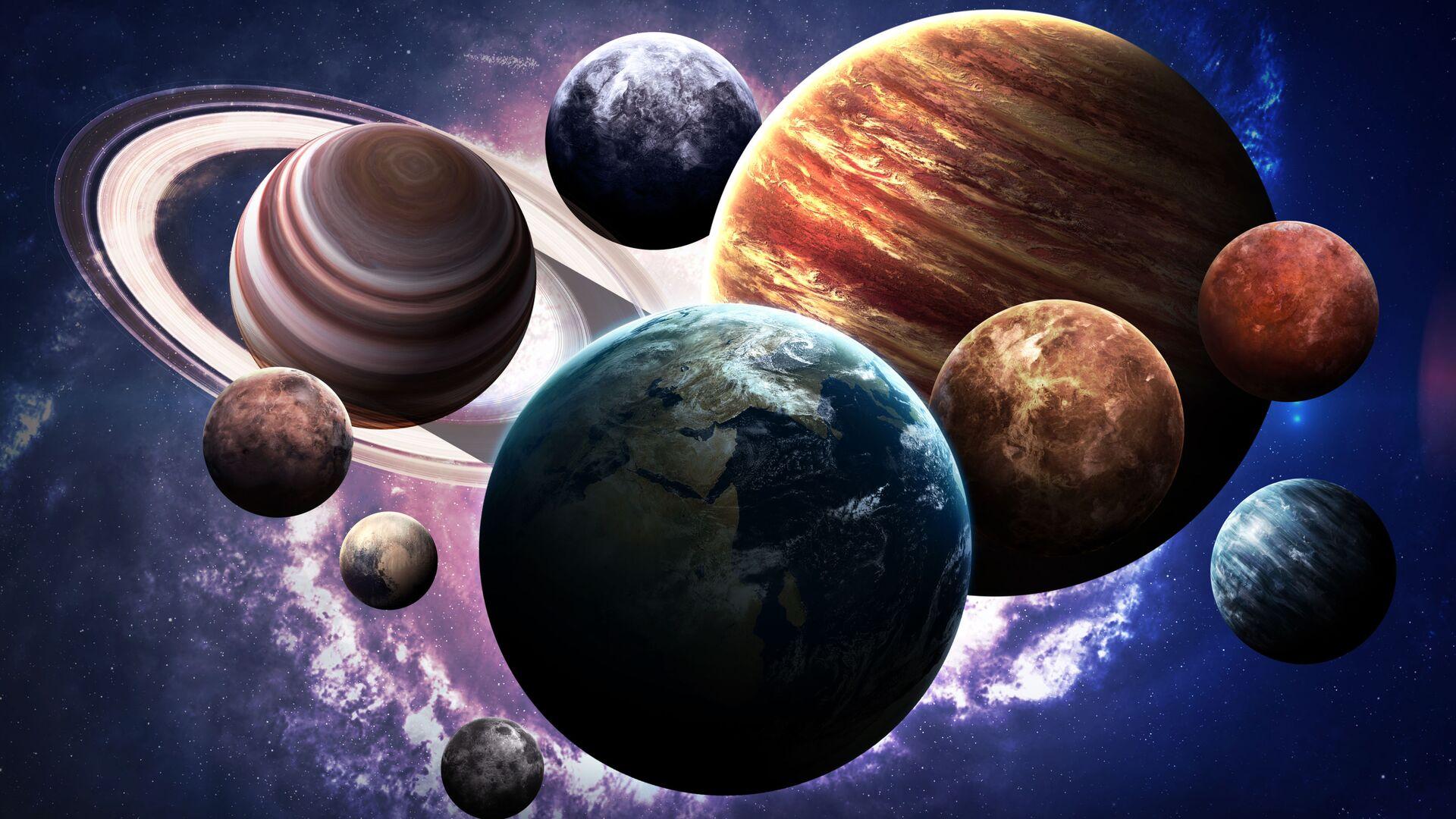 Планеты Солнечной системы - Sputnik Latvija, 1920, 19.09.2021