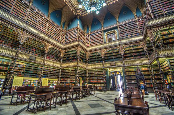 Portugāles karaliskā bibliotēka, Riodežaneiro, Brazīlija - Sputnik Latvija