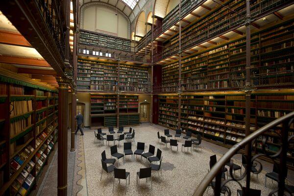 Rijksmuseum – lielākā mākslas vēstures pētījumu bibliotēka Nīderlandē un daļa no Mākslas muzeja - Sputnik Latvija
