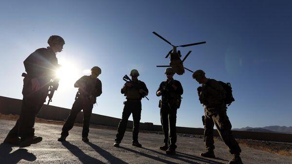 Американские солдаты в провинции Логар, Афганистан - Sputnik Latvija