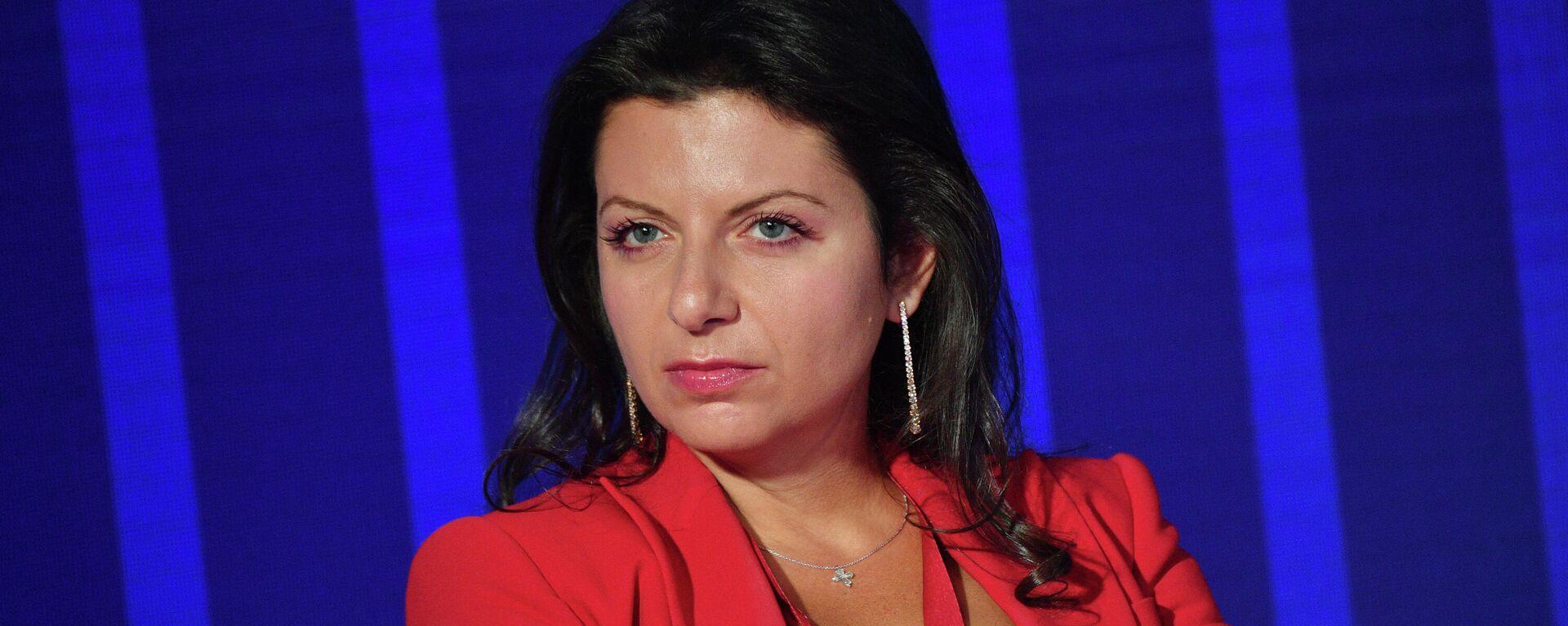Главный редактор телеканала RT и МИА Россия сегодня Маргарита Симоньян - Sputnik Latvija, 1920, 25.09.2021