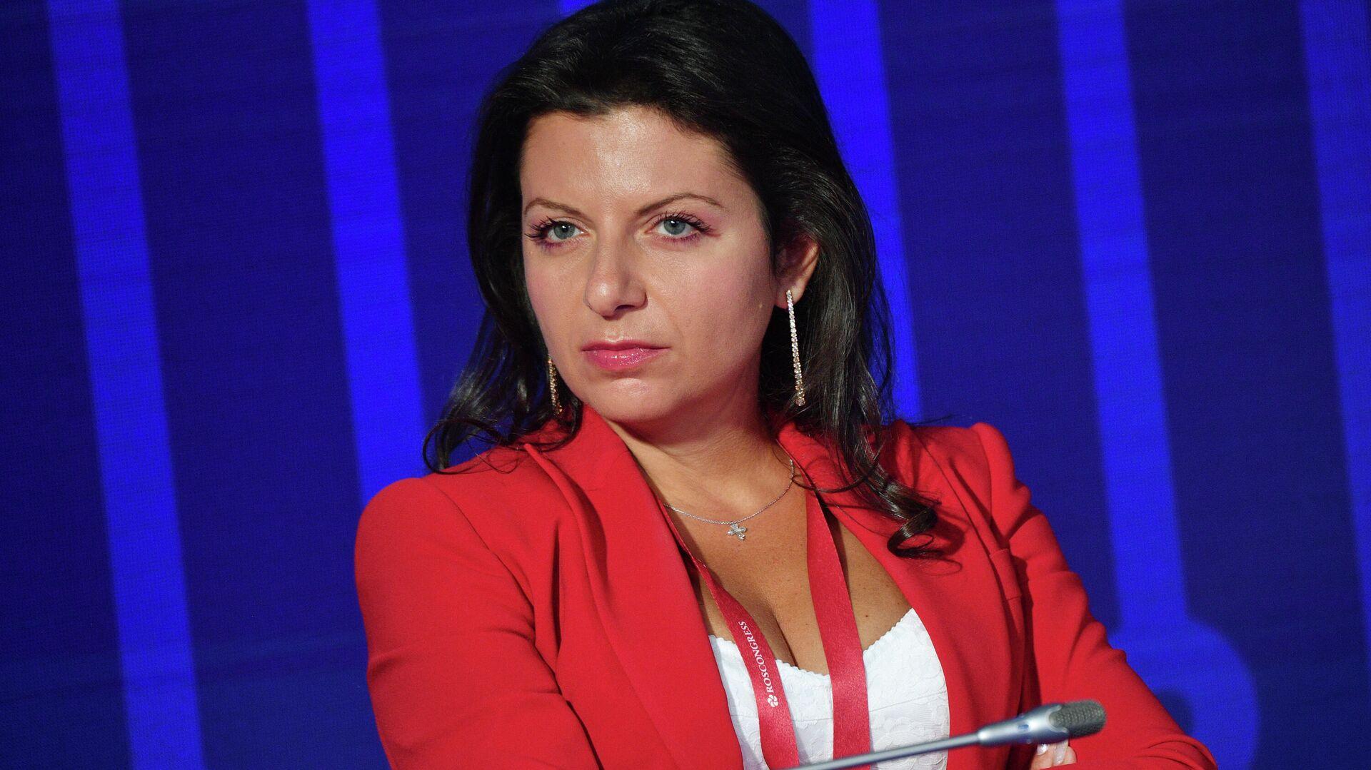 Главный редактор телеканала RT и МИА Россия сегодня Маргарита Симоньян - Sputnik Латвия, 1920, 23.09.2021