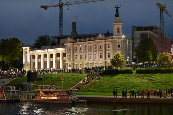 Как отмечают организаторы, день осеннего равноденствия - особенный для всех европейских народов и связан с древними традициями.  - Sputnik Латвия
