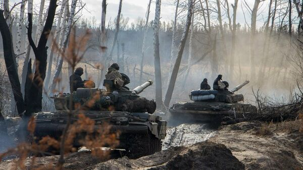 Ukrainas karavīri - Sputnik Latvija
