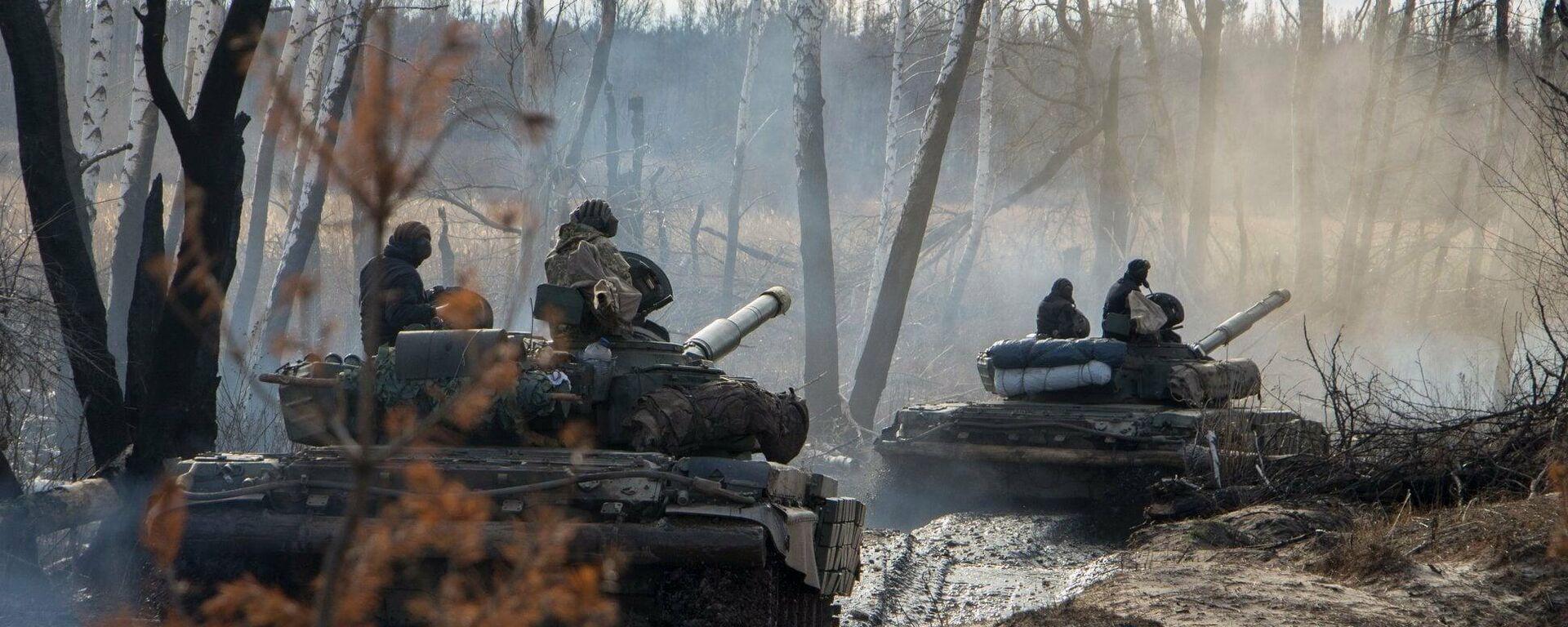 Ukrainas karavīri - Sputnik Latvija, 1920, 03.10.2021