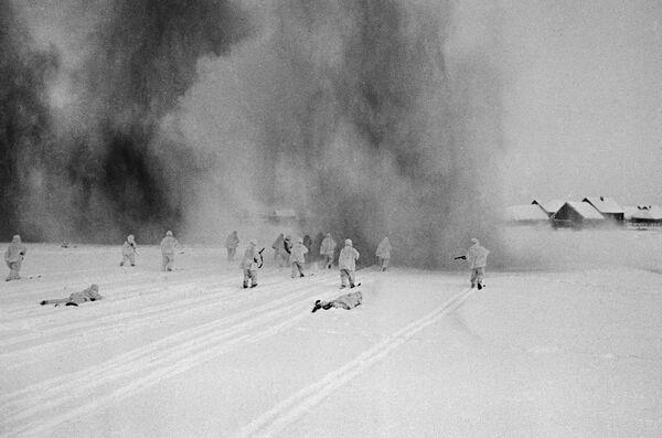 Бои в Подмосковье, Западный фронт, октябрь-декабрь 1941 год - Sputnik Латвия