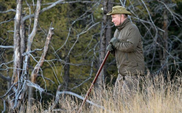 Putina preses sekretārs Dmitrijs Peskovs pastāstīja, ka valsts vadītājs ļoti iemīļojis Sibīriju - Sputnik Latvija
