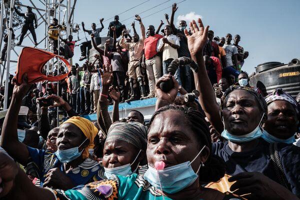 Slimnīcas atklāšanas ceremonija Kiberas graustos Nairobi - Sputnik Latvija