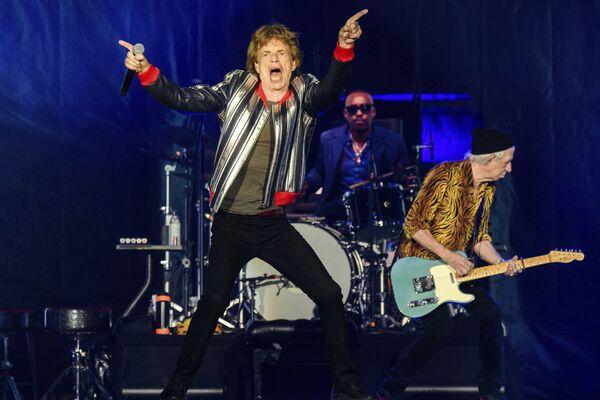 The Rolling Stones uzstājas koncerttūrē No Filter Sentluisā - Sputnik Latvija