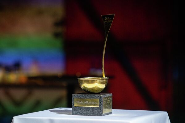 Приз конкурса поваров – золотая поварешка - Sputnik Латвия