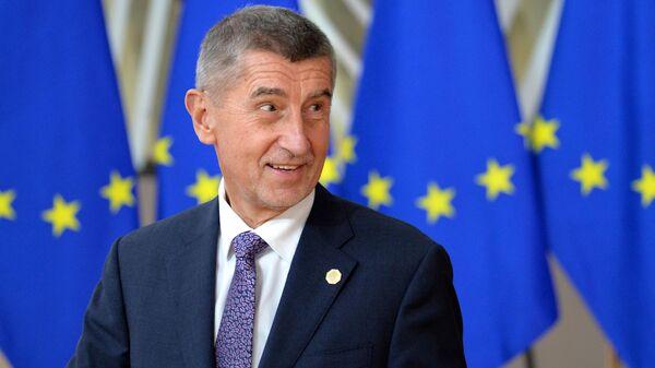 Премьер-министр Чехии Андрей Бабиш - Sputnik Латвия
