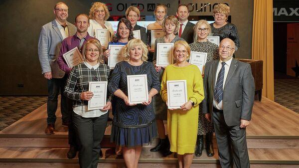 Лучшие работники отрасли торговли были награждены почетными грамотами  - Sputnik Латвия
