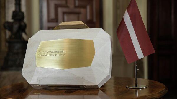 Внесение проекта государственного бюджета на 2022 год в Сейм Латвии - Sputnik Латвия