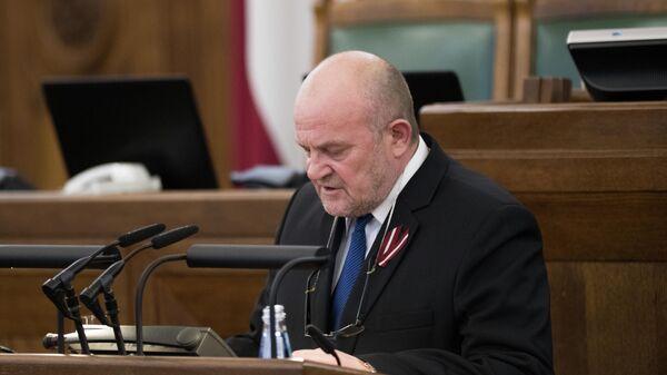 Депутат Сейма Латвии Янис Адамсонс - Sputnik Латвия