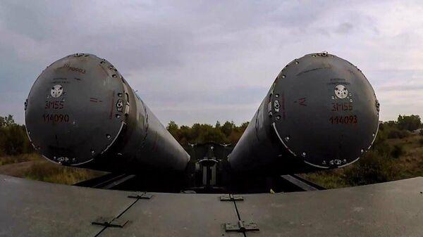 Балтийский флот провел учения с БРК Бастион: цели уничтожены - Sputnik Латвия