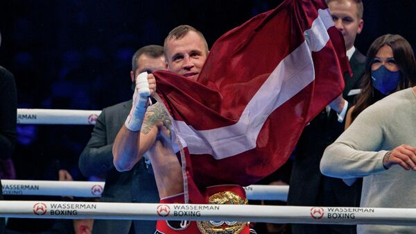 Латвийский боксер Майрис Бриедис - Sputnik Латвия