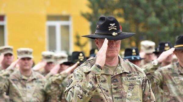 США провели ротацию подразделений по подготовке военнослужащих Украины - Sputnik Latvija