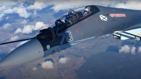 Экипажи морской авиации Балтфлота отшлифовали дозаправку в воздухе - Sputnik Латвия