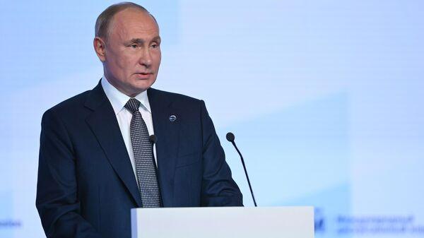 Президент РФ Владимир Путин принял участие в заседании клуба Валдай - Sputnik Латвия