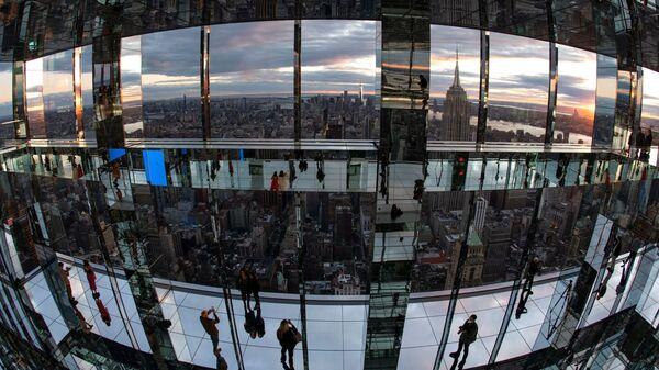 На открытии смотровой площадки SUMMIT One Vanderbilt в Нью-Йорке - Sputnik Латвия