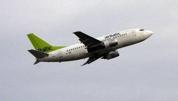 Боинг авиакомпании AirBaltic - Sputnik Латвия