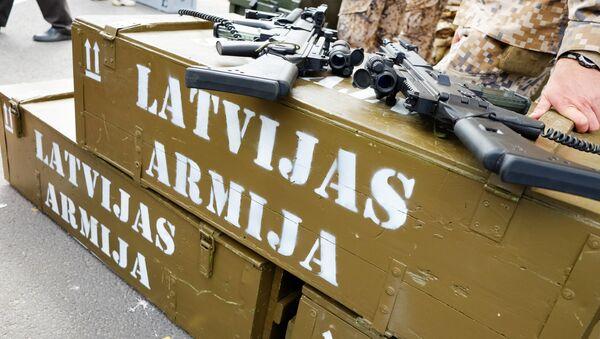 Латвийские военные - Sputnik Latvija